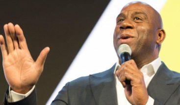 Magic Johnson alaba trabajo NBA en comunidad afroamericana contra coronavirus