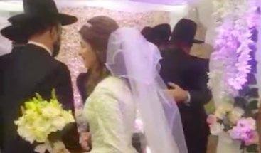 Boda prohibida por cuarentena: Detienen a novios y al rabino en Buenos Aires