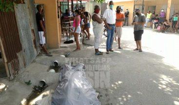 Residentes en Haina pide levanten cadáver de la calle
