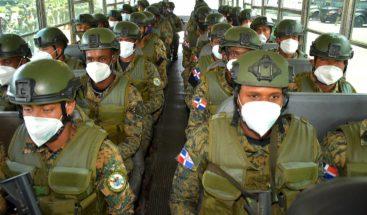 Envían 1,200 tropas a reforzar frontera por aumento del COVID-19 en Haití