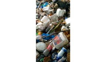 Denuncian cañada repleta de basura en el barrio La Piña en Los Alcarrizos