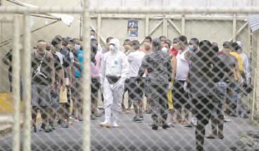 COVID-19: 346 internos reciben tratamiento en centros de aislamientos