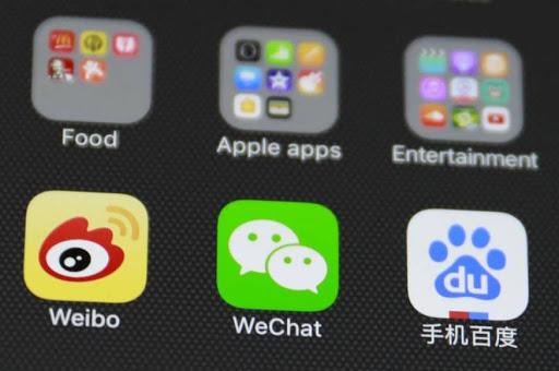 La red social china WeChat cierra una cuenta que difamaba a Estados Unidos