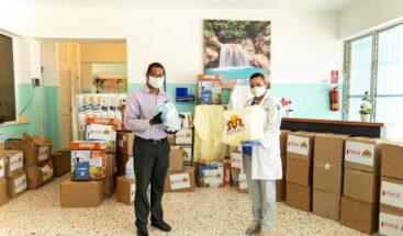 Red de Apoyo Contra Coronavirus entrega alimentos e insumos médicos en varias provincias