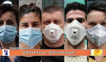 Descubra cómo puede tratar las alergias provocadas por las mascarillas desechables