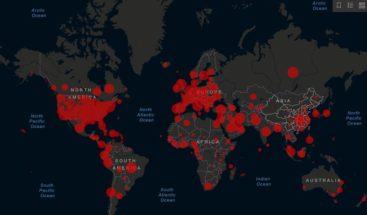 Más de 288.000 muertes y 4 millones de contagiados por COVID-19 en el mundo
