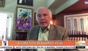 """Bernardo Vega: """"La diferencia de quedarse en casa en un país rico y uno pobre"""""""