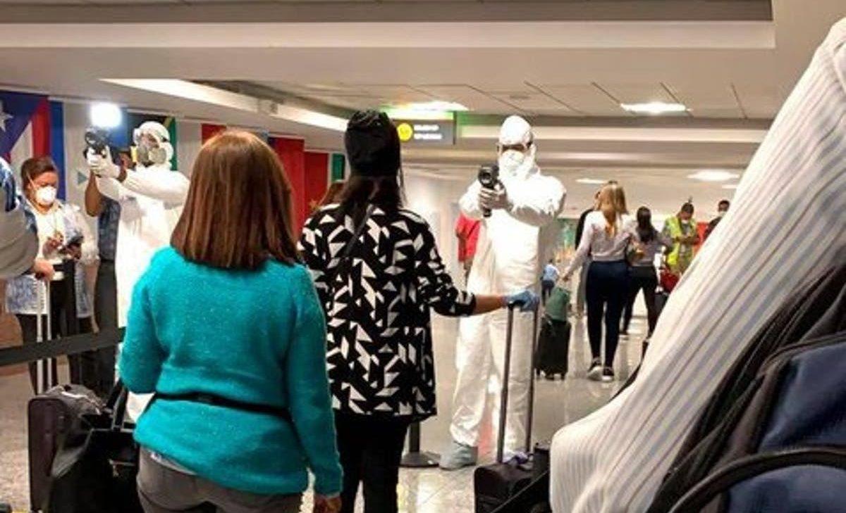 Catorce de 199 pasajeros que llegaron al AILA procedentes de Europa dan positivo al COVID-19