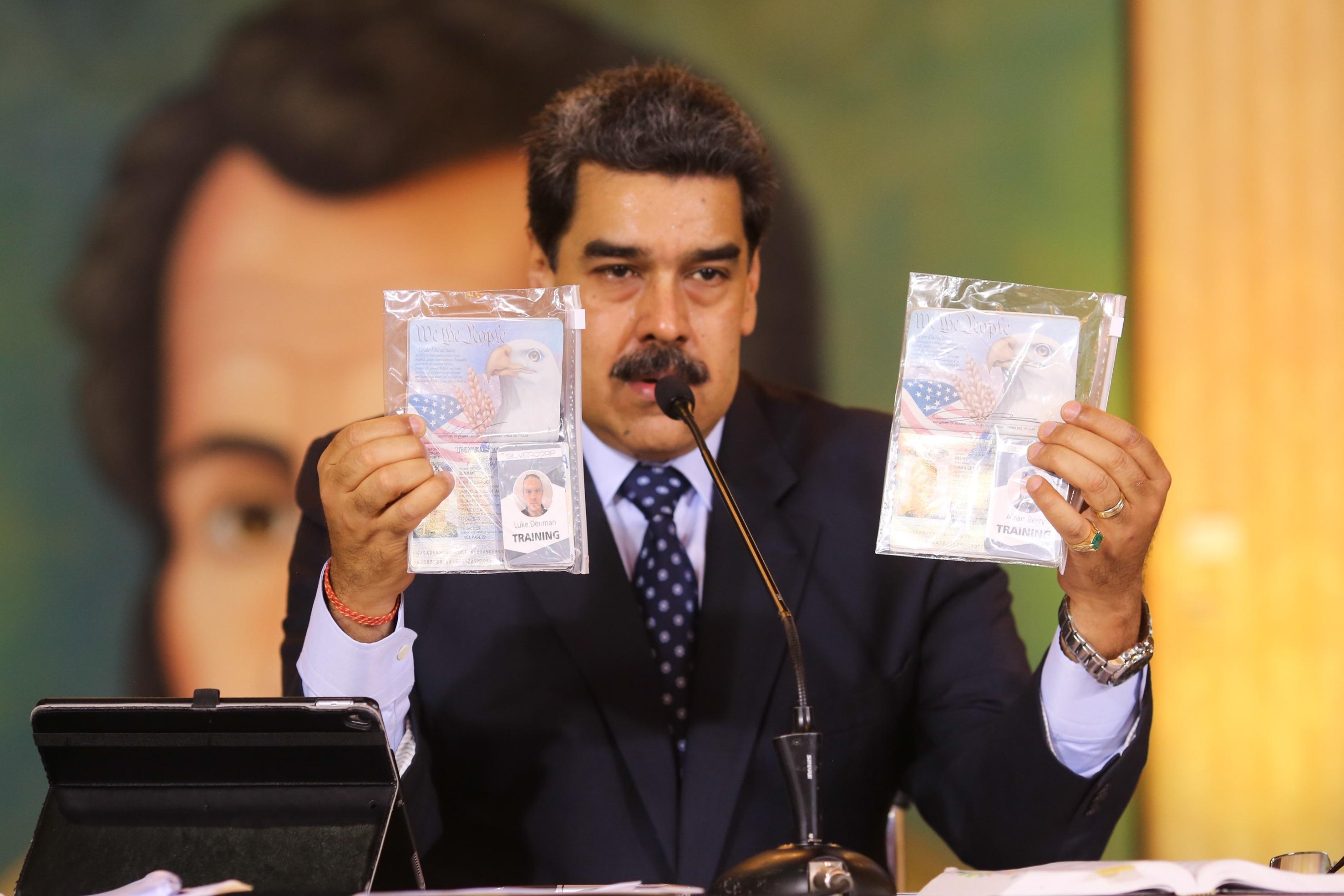 Estadounidense detenido dice que el plan era enviar a Maduro a EEUU