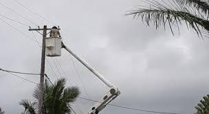 Fuertes lluvias dispararon circuitos de EdeEste dejando 202 mil clientes sin energía