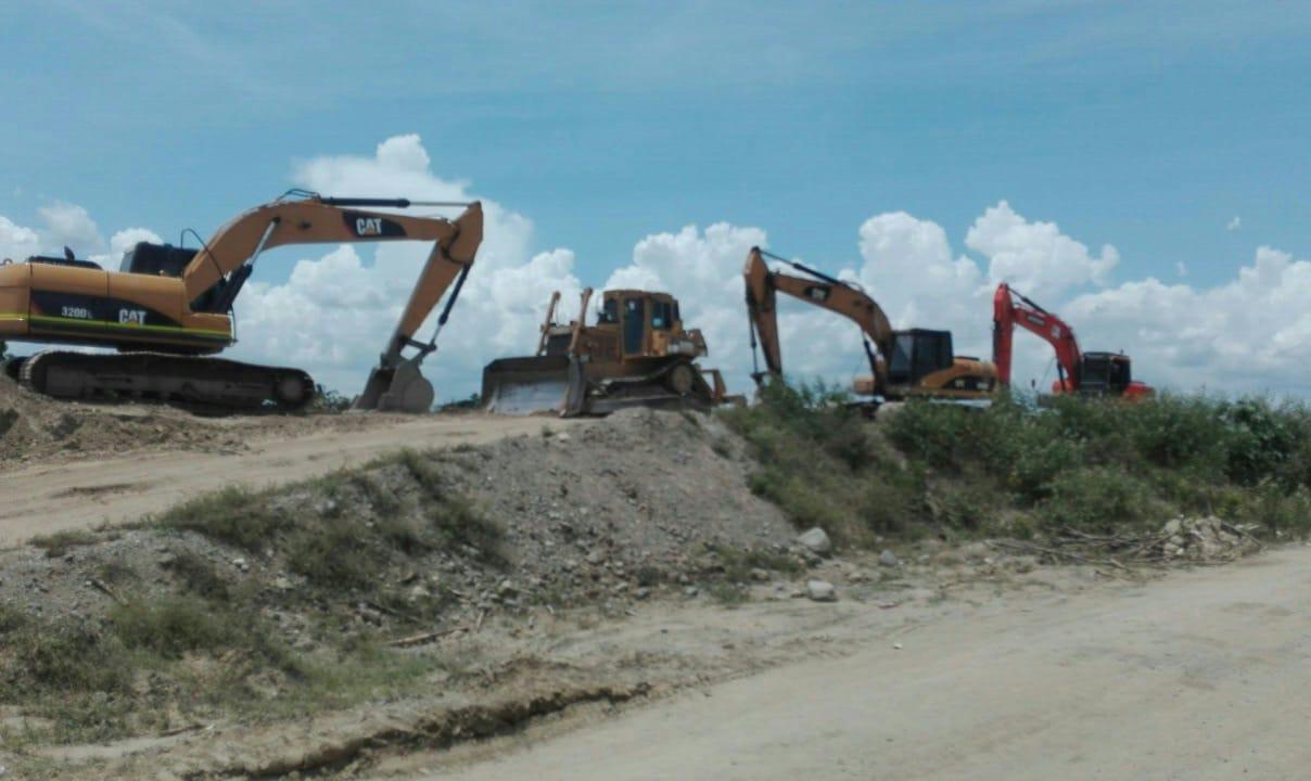 Arrestan seis personas y clausuran tres minas en La Vega