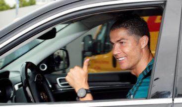 Cristiano regresa al centro deportivo del Juventus 72 días después