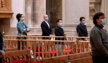 Más 40 personas se contagian en misa bautista en el centro de Alemania