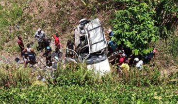 Fallece joven en accidente en Gaspar Hernández