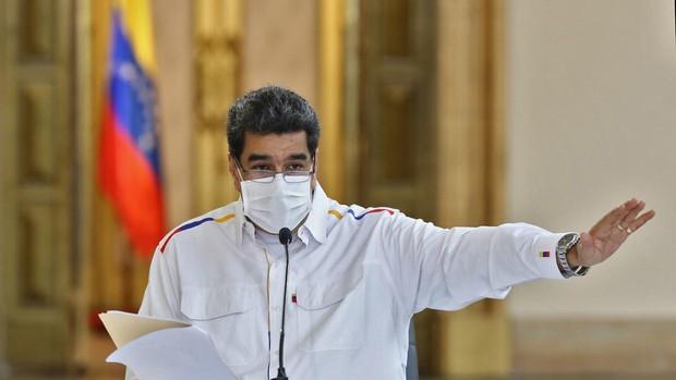 Maduro llama a Guaidó