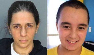 Madre de niño autista detenida en Miami intentó matarlo dos veces en un día