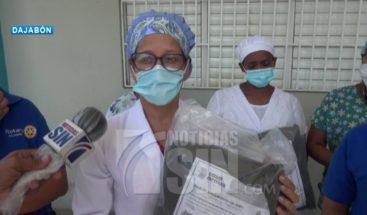 Donan insumos de protección a hospital de Dajabón