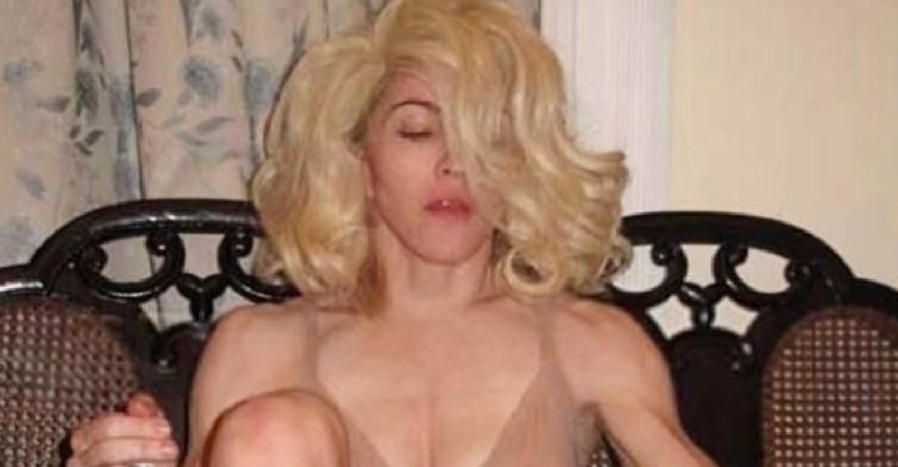La provocadora foto de Madonna al borde de la censura