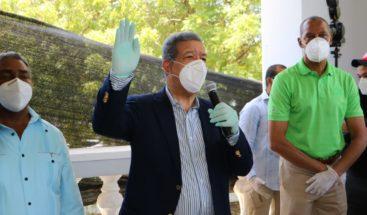 Leonel dice FP se consolida en segundo lugar; juramenta expeledeístas en SPM