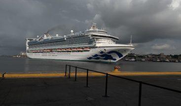 Llega desde Bahamas crucero Caribbean Princess con dominicanos a bordo