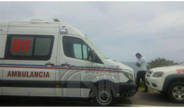 Un fallecido en accidente en Kilómetro 9 de autopista Las Américas