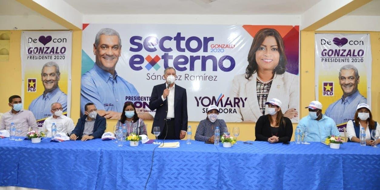 Sector Externo con Gonzalo juramenta su directiva provincial en Sánchez Ramírez