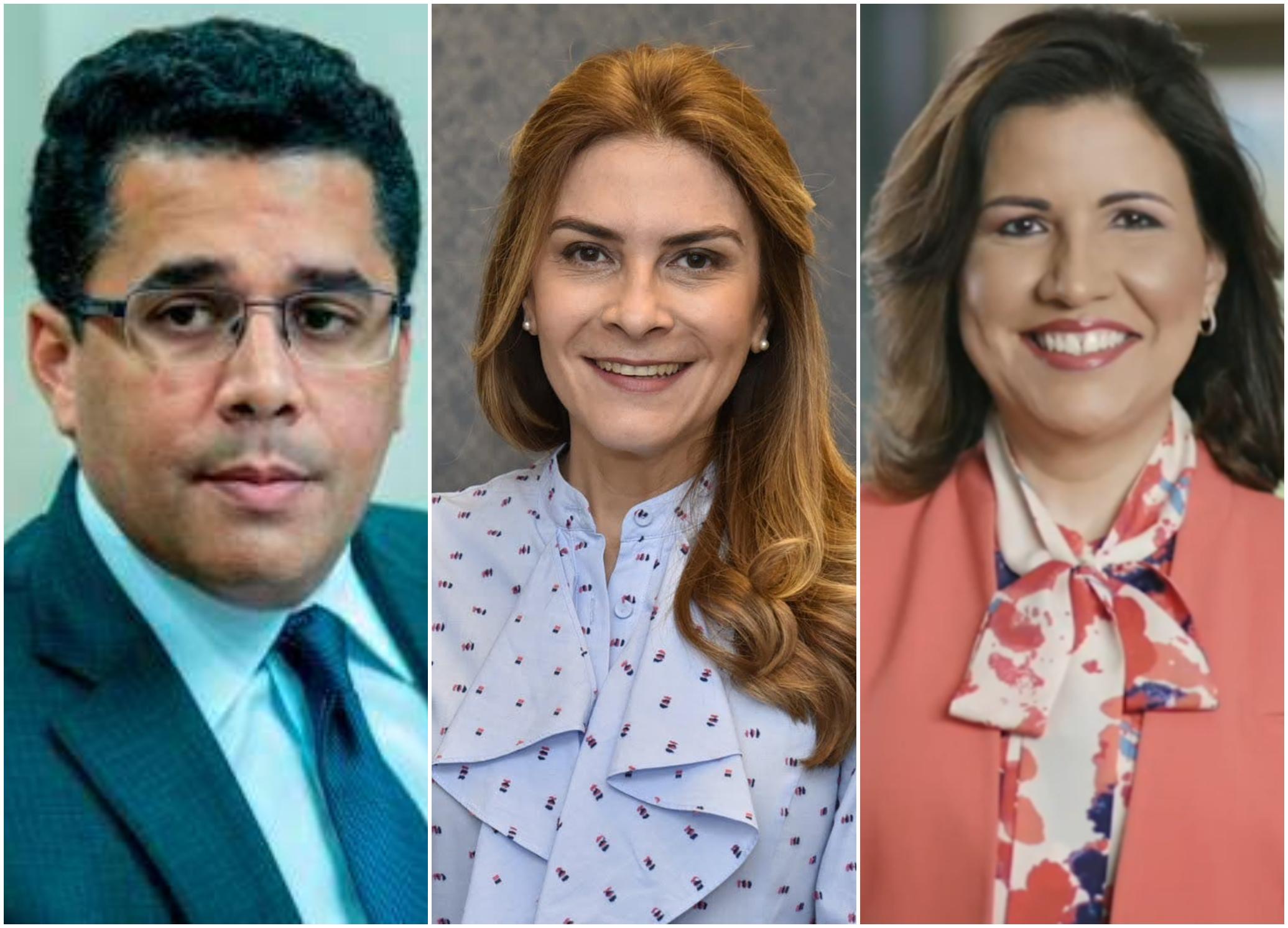 David Collado, Carolina Mejía y Margarita Cedeño, los políticos con mayor favorabilidad