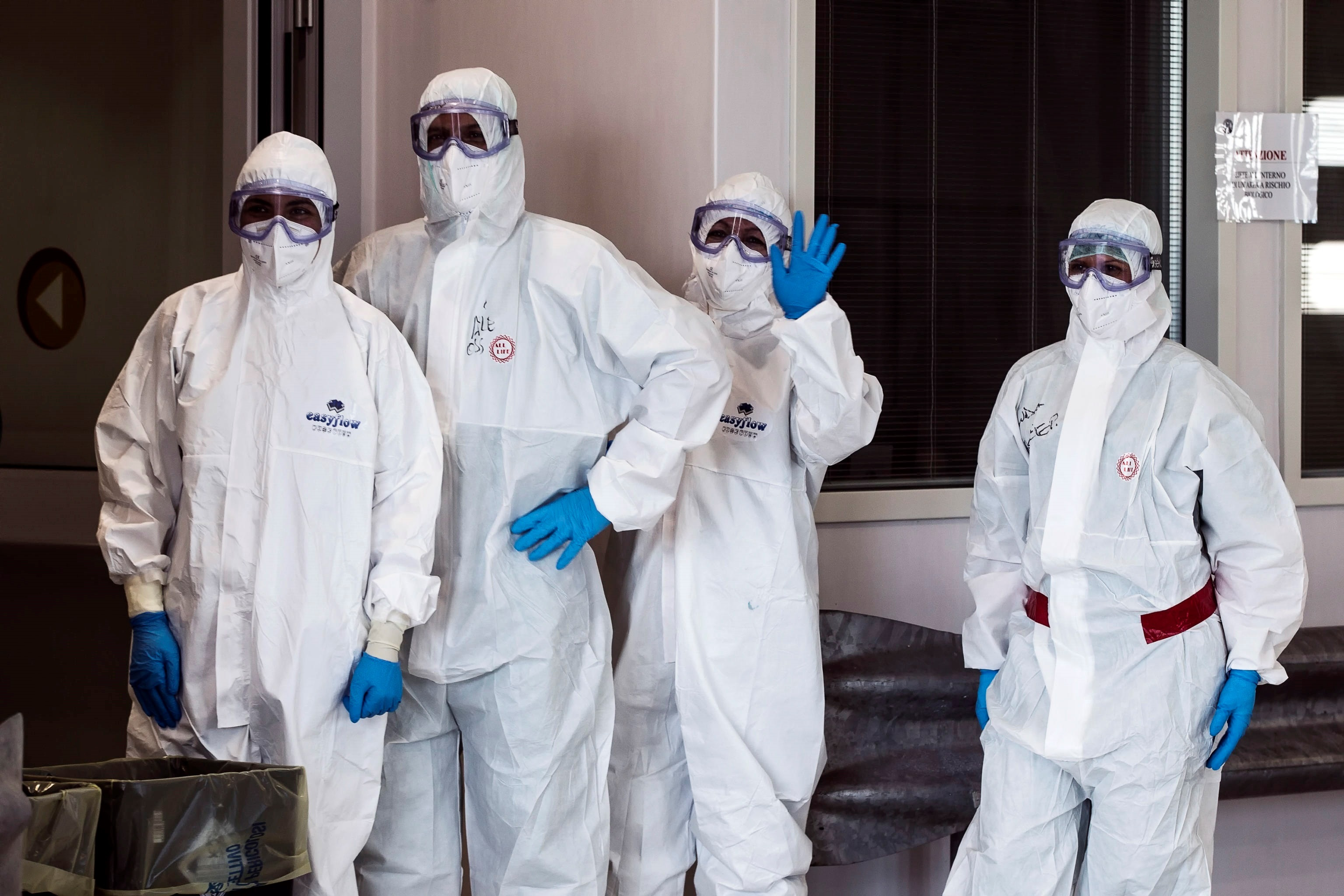 Italia registra el menor número de contagios de la semana