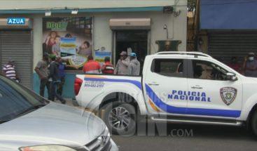 PN cierra negocios en Azua por operar durante estado de emergencia