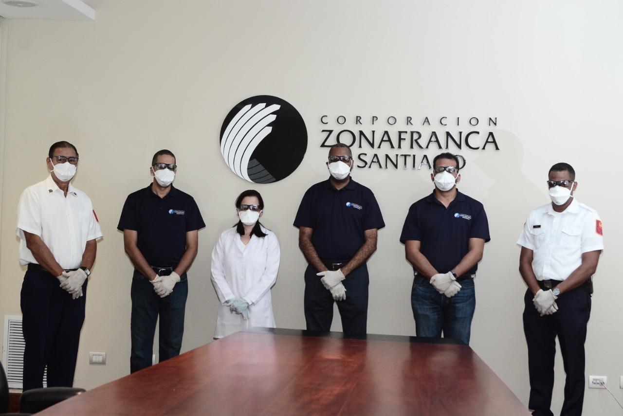 Corporación Zonafranca de Santiago crea comité para fortalecer protocolos de seguridad