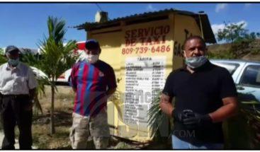 Taxistas de Gaspar Hernández dicen no han recibido ayuda económica