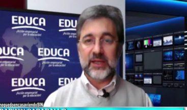 """Educa: """"Si la pandemia permanece el gran desafío será el próximo año escolar"""""""