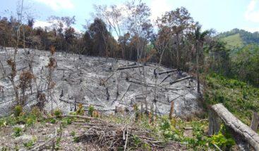 Implicado en incendio agroforestal va a prisión preventiva por tres meses