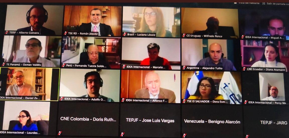 Expertos latinoamericanos analizan impacto de Covid19 en Procesos electorales