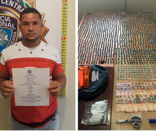 Ocupan más de 2,000 porciones de drogas a un hombre en Bonao