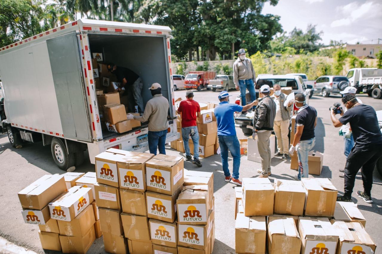 Sur Futuro realiza operativos de la Red de Apoyo contra Coronavirus en Azua