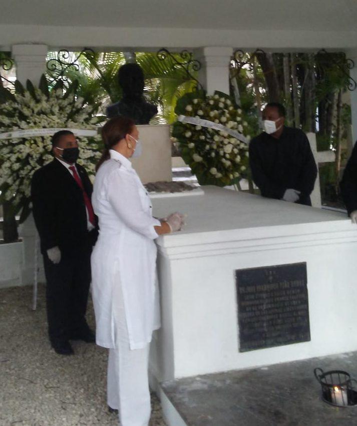 Peggy recuerda y expresa conmovedoras palabras en aniversario de muerte de Peña Gómez