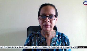 Anina Del Castillo asegura no existen elementos para determinar alza en los precios