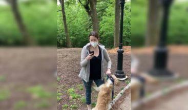 Mujer de denuncia racista viral en Nueva York se queda sin perro