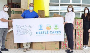 Nestlé Dominicana entrega ayuda a comunidades afectadas por COVID-19