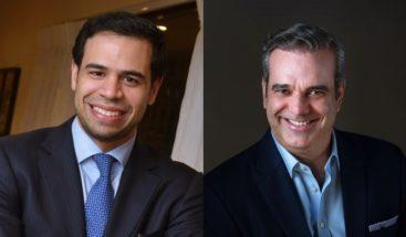 Robertico se une a campaña presidencial de Luis Abinader