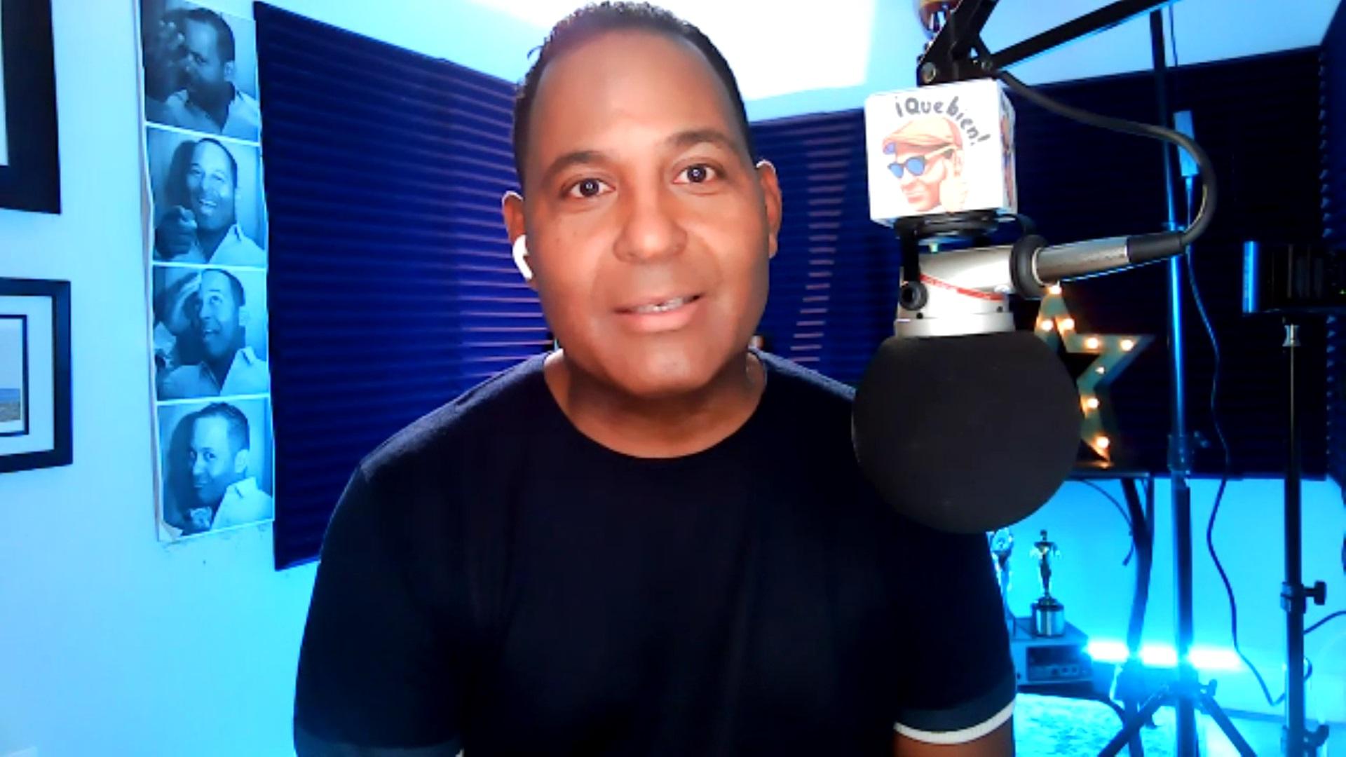 Tony Dandrades revela su padre atraviesa problemas de salud