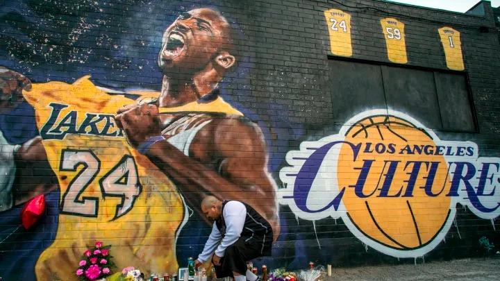 Mural de Kobe Bryant en Los Ángeles no ha sufrido daños en las protestas