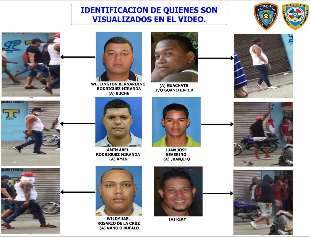 PN revela supuesta estructura criminal que protagonizó tiroteo en Capotillo
