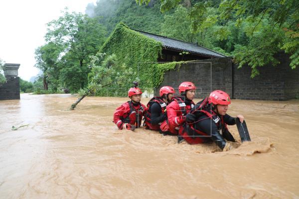 Al menos 19 muertos y 2,6 millones de afectados por inundaciones en China
