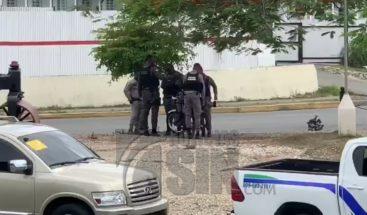 Inmediaciones de la JCE militarizadas por llamado a manifestación