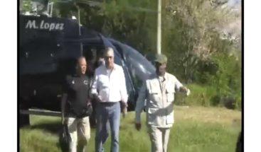 Luis Abinader viajó en helicóptero de familia vinculada a lavado de activos