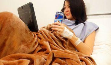 Dafne Guzmán revela tiene tres años sufriendo una condición de salud