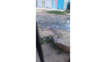 Denuncian contaminación en el sector Ponce Adentro de Los Guaricanos