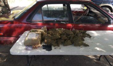 Ejército detiene a dos hombres con siete pacas de marihuana en cilindros de GLP
